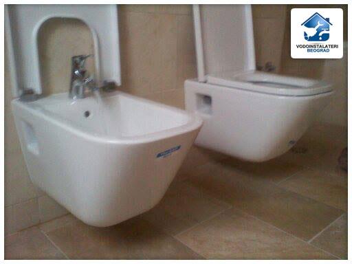 Bide i wc školjka ugradnja - adaptacija kupatila