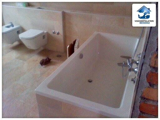 Adaptacija kupatila - ugradnja kade i sanitarija