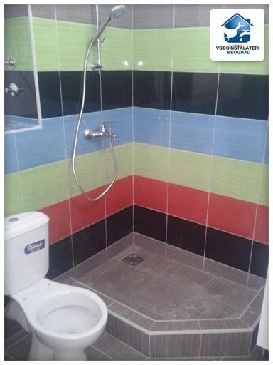 Ugradnja tuš kabine - Adaptacija kupatila - ugradnja tuš baterije - Vodoinstalater Beograd