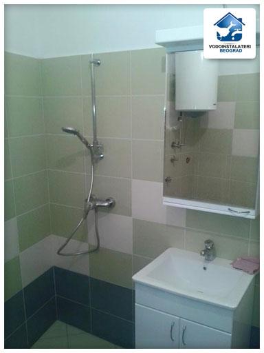 Ugradnja ogledala i lavaboa u kupatilu - Vodoinstalater Beograd