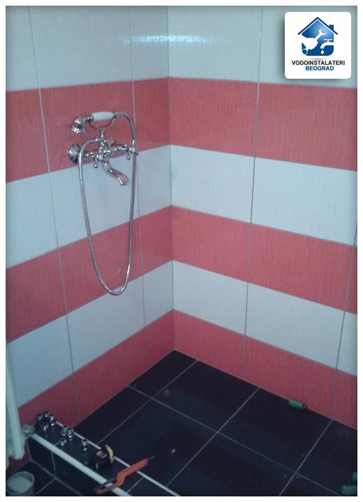 ugradnja tuš kabine renoviranje kupatila