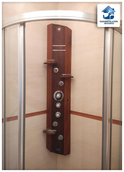 Popravka neispravnog masažera u tuš kabini