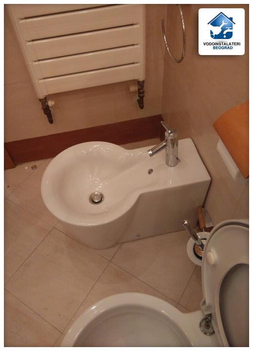 Zamena perlatora na bideu u kupatilu