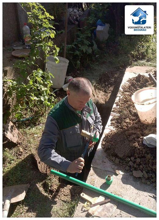 Dovod vode - Ugradnja - Vodoinstalateri Beograd Tim