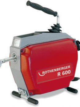 mazina za odgušenje kanalizacije -  Rothenberger r600