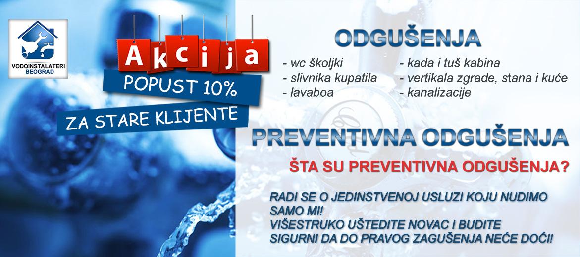 Preventivna odgušenja - klik!