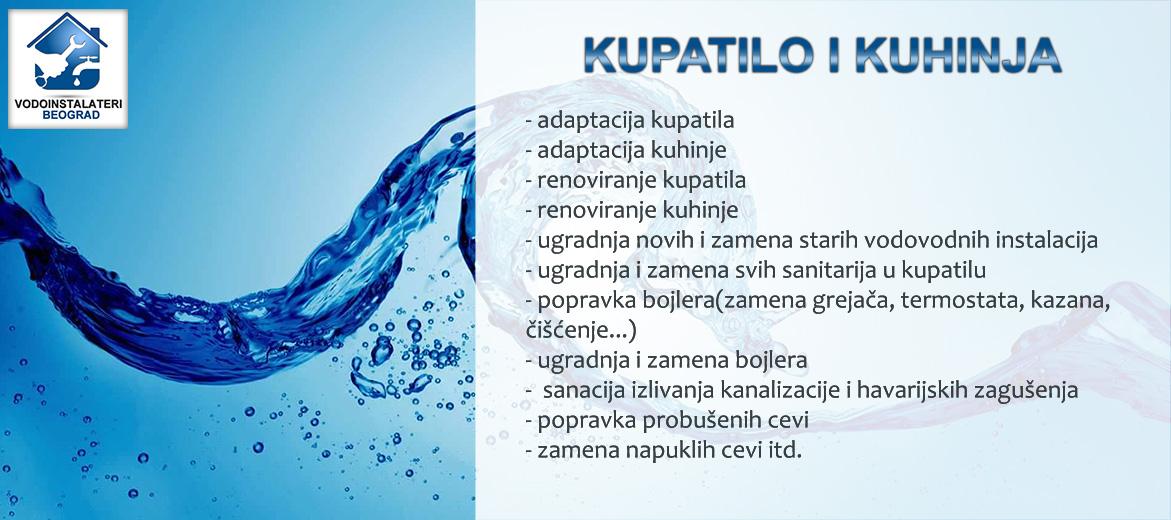 Sve vrste vodoinstalaterskih usluga