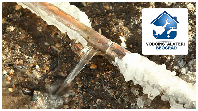 Pukla zaledena cev -Vodoinstalateri Beograd Tim