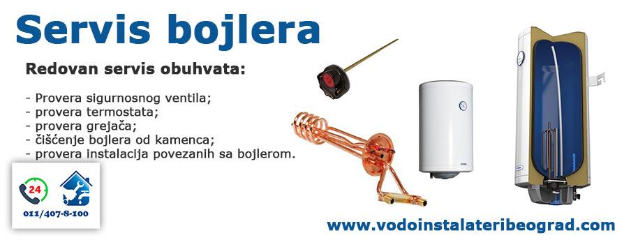 Redovan servis bojlera - Beograd - Vodoinstalateri Beograd Tim