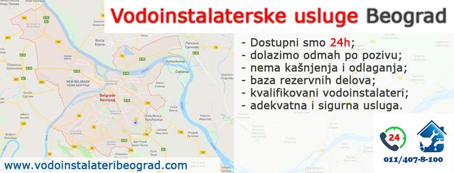 Vodoinstalaterske usluge Beograd - Vodoinstalateri Beograd Tim