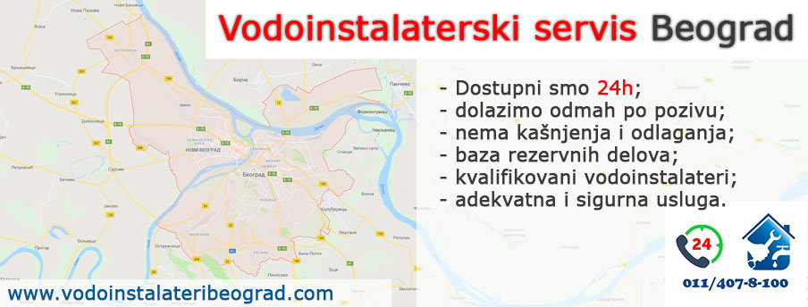 Vodoinstalaterski servis Beograd - Vodoinstalateri Beograd Tim
