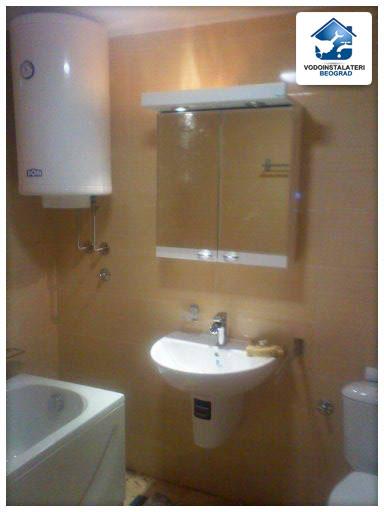 Adaptacija kupatila - ugradnja lavaboa