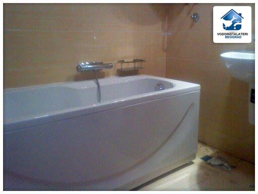 Ugradnja kade - adaptacija kupatila