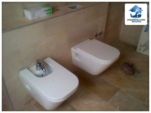 Ugrađeni bide i wc školjka - adaptacija kupatila