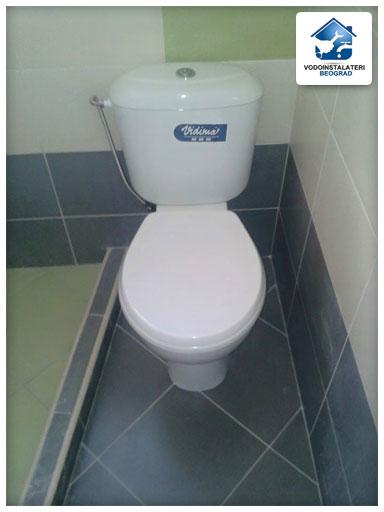 Ugradnja wc šolje Beograd - Adaptacija kupatila - Vodoinstalater Beograd