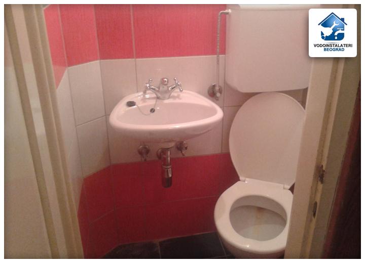 renoviranje kupatila ugradnja vodokotlica i baterije