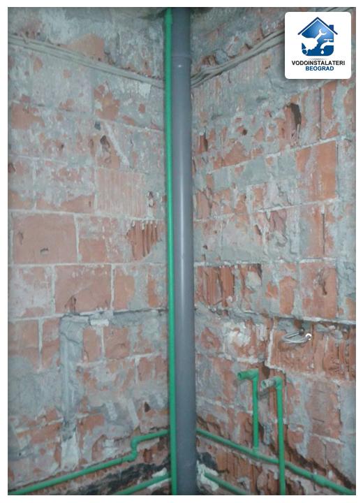 ugradnja vodovodne vertikale - adaptacija kupatila
