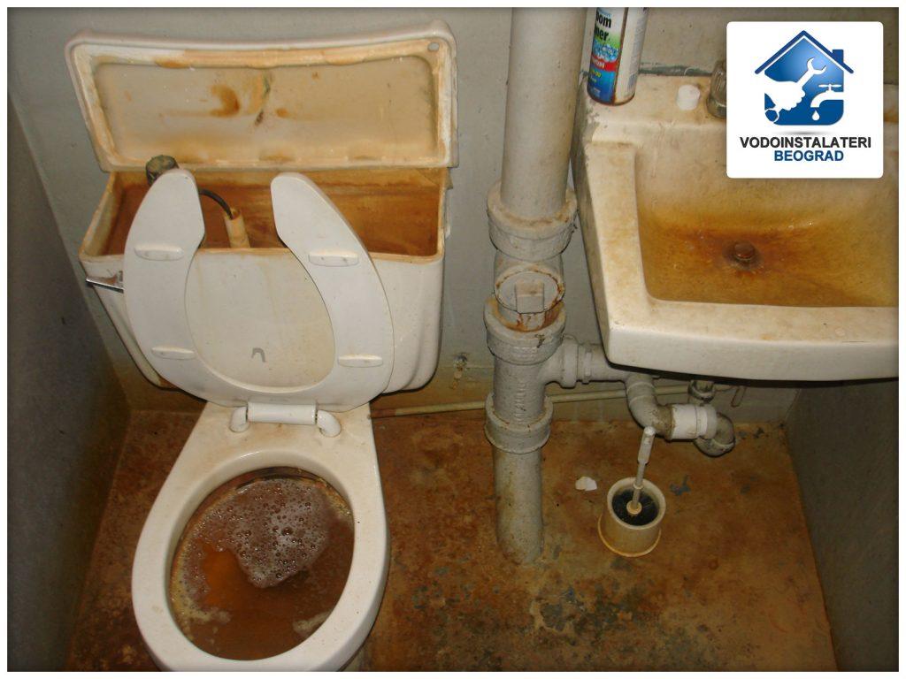 Zagušenje kupatila lako nastaje ukoliko smo nemarni.
