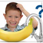 Jedna slavina vs dečak i banana