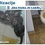 Ispiranje kanalizacionih cevi
