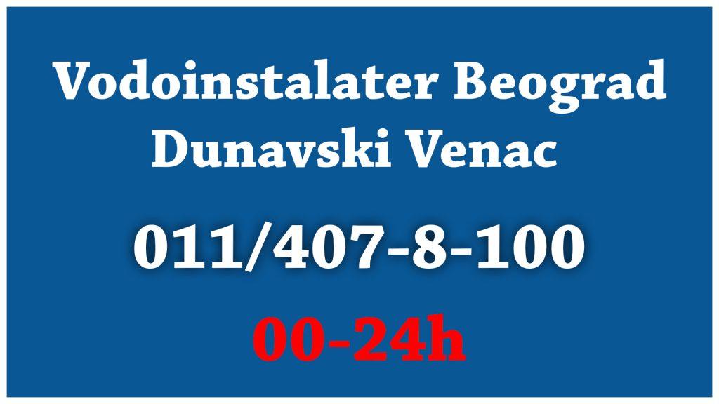 Vodoinstalater Dunavski Venac