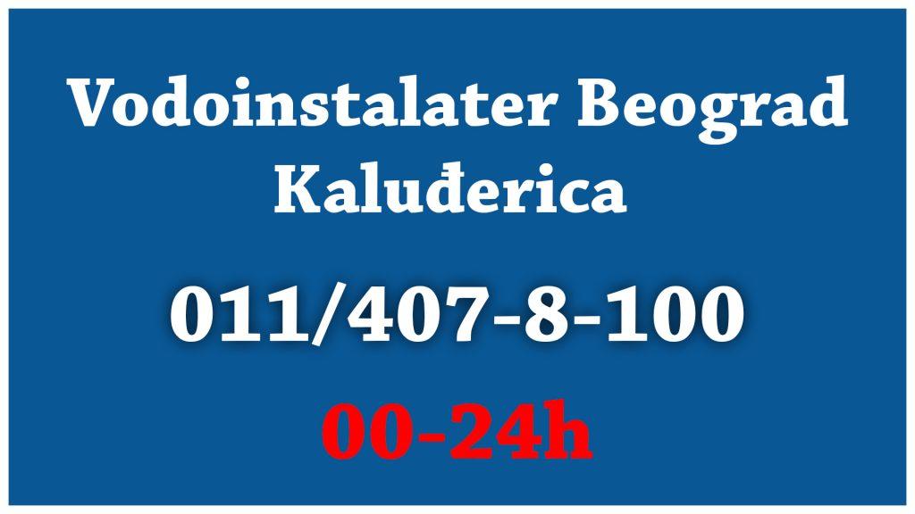 Vodoinstalater Beograd Kaluđerica