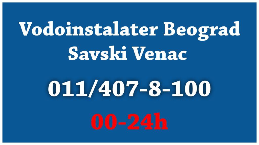 Vodoinstalater - Savski Venac
