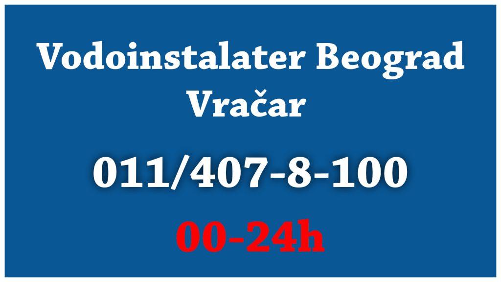 Vodoinstalater Beograd - Vraćar