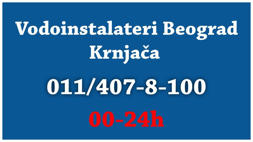 Vodoinstalater Krnjača - Vodoinstalateri Beograd Tim