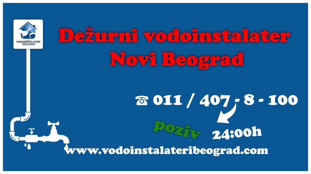 Dežurni vodoinstalater Novi Beograd