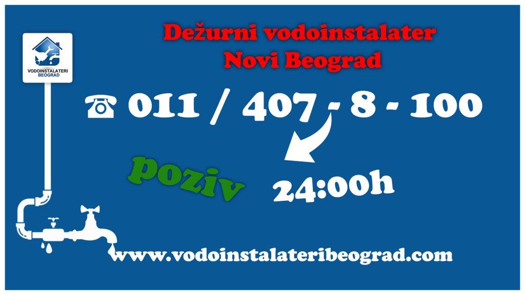 Dežurni vodoinstalater Novi Beograd - Vodoinstalateri Beograd Tim