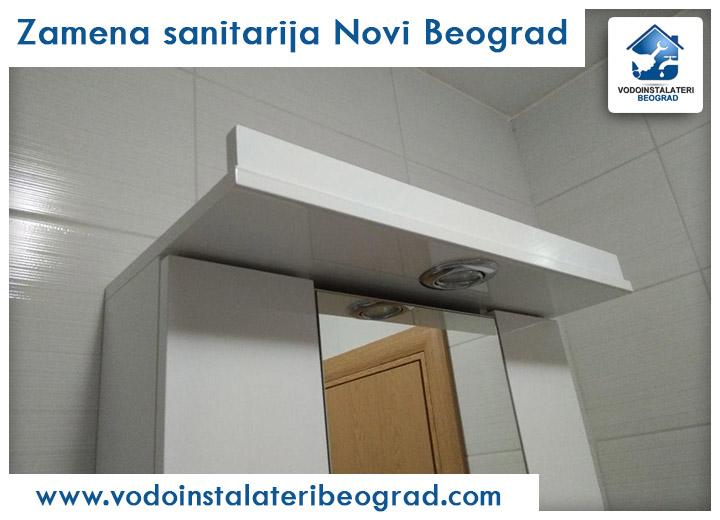 Zamena sanitarija Novi Beograd - Vodoinstalateri Beograd Tim