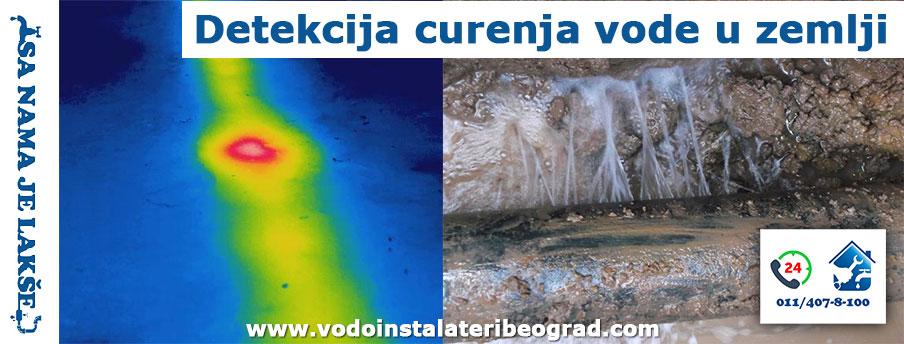 Detekcija curenja vode u zemlji Beograd - Vodoinstalateri Beograd Tim