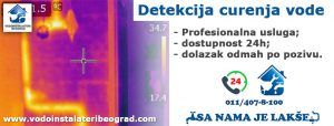 Detekcija curenja vode Beograd - Vodoinstalateri Beograd Tim