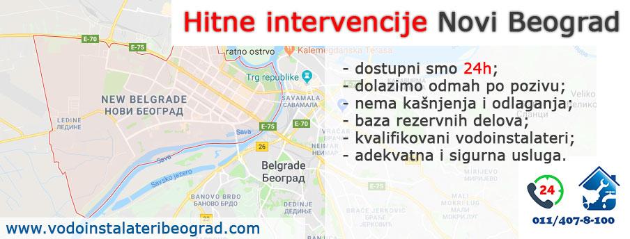 Hitne intervencije Novi Beograd - Vodoinstalateri Beograd Tim