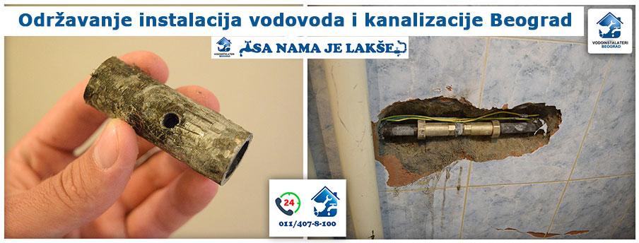 Održavanje instalacija vodovoda i kanalizacije Beograd - Vodoinstalateri Beograd Tim