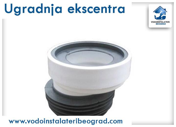 Ugradnja ekscentra - Vodoinstalateri Beograd Tim