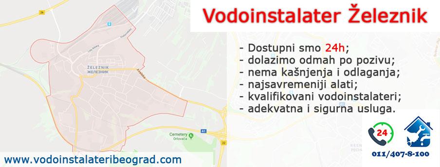 Vodoinstalater Železnik - Vodoinstalateri Beograd Tim