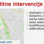 Hitne intervencije Dedinje