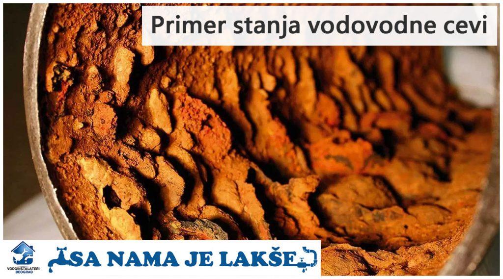Zamena cevi - Vodoinstalateri Beograd Tim