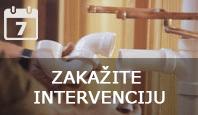 Zakažite intervenciju
